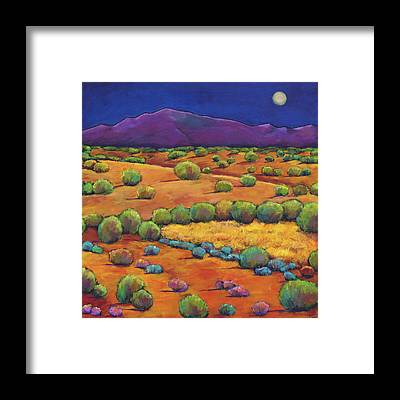 Hill Country Framed Prints