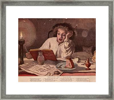 Midnight Snack Framed Print by Hulton Archive