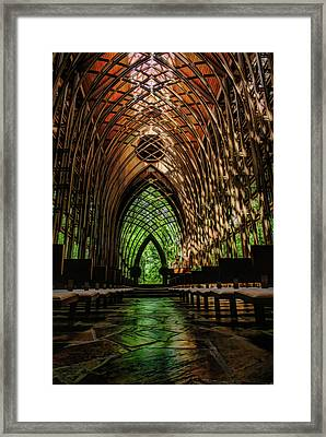 Mildred B. Cooper Memorial Chapel Framed Print