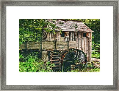 Mill At Cades Cove Framed Print