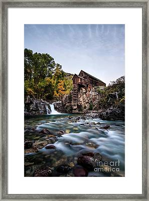 Mill On Crystal River Framed Print