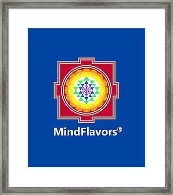 Mindflavors Medium Framed Print