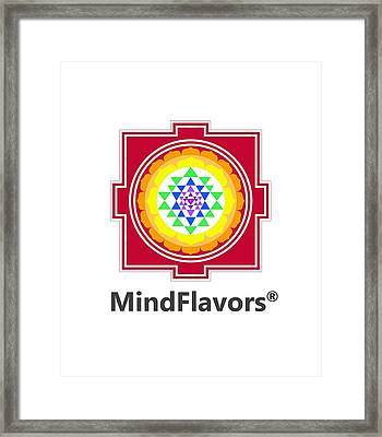 Mindflavors Original Medium Framed Print