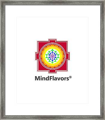 Mindflavors Original Small Framed Print
