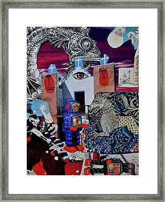 Mind's Eye Framed Print