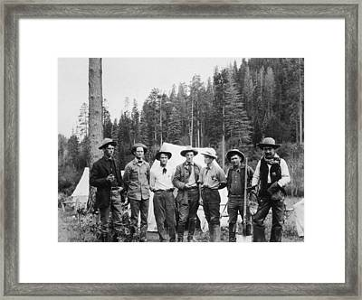 Mining Prospectors Framed Print by Hulton Archive