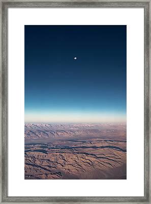 Missing Earth Framed Print