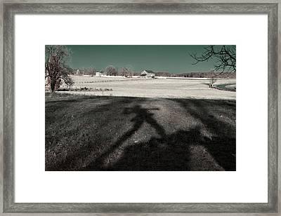 Mississippi Shadow Framed Print
