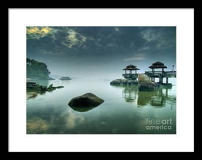 High Tide Framed Prints