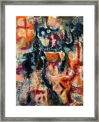 Mixed Emotions Framed Print
