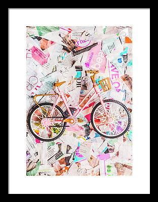 Papergirl Photographs Framed Prints