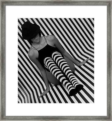 Framed Print featuring the photograph Model 1 by Francisco Gomez