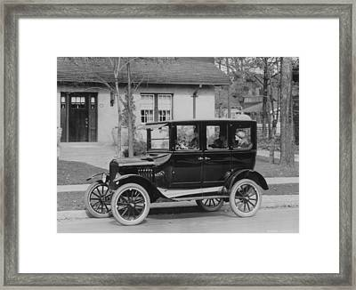Model T Ford Framed Print by Three Lions