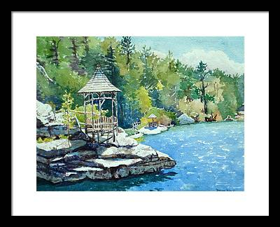 Mira Fink Landscapes Framed Prints