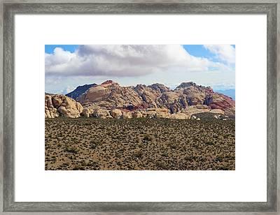 Mojave Desert Love Framed Print
