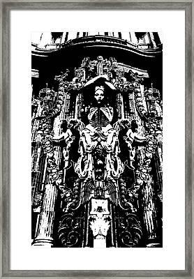 Momento Mori Framed Print