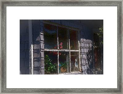 Framed Print featuring the photograph Moms Place by Bill Posner