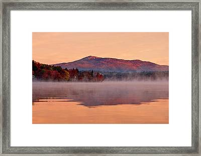 Monadnock Sunrise Framed Print