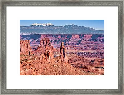Framed Print featuring the photograph Monster Tower by Andy Crawford