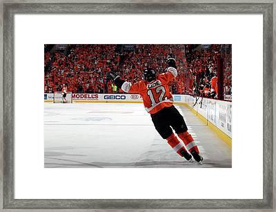 Montreal Canadiens V Philadelphia Framed Print