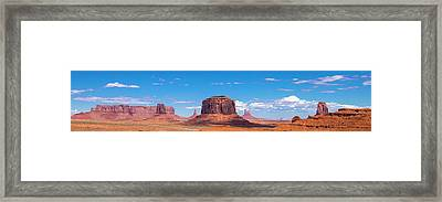 Monument Lookout Framed Print