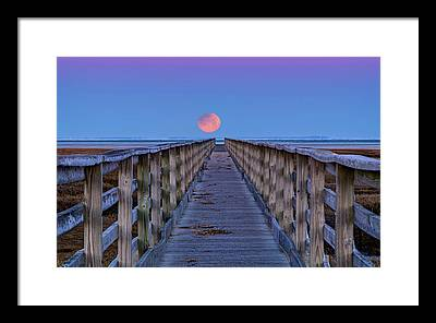 Moonwalk Framed Prints