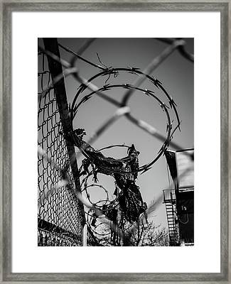 More Barriers Framed Print