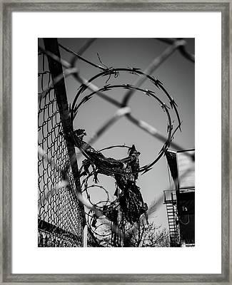 More Barriers Framed Print