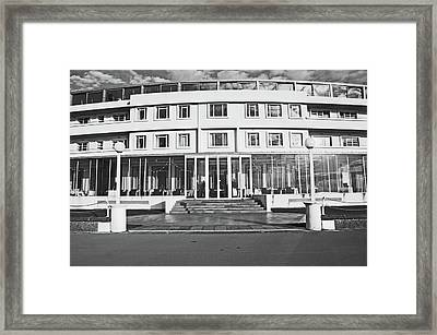 Morecambe. The Midland Hotel Framed Print