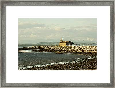 Morecambe. The Stone Jetty. Framed Print