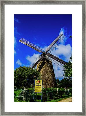 Morgan Lewis Mill Framed Print