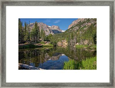 Morning At The Loch Framed Print