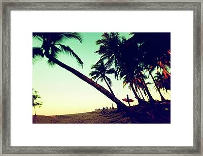 Morning Gaze Framed Print