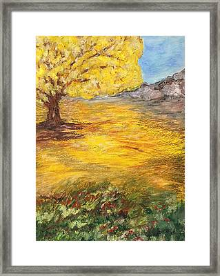 Framed Print featuring the painting Morning Glory by Norma Duch