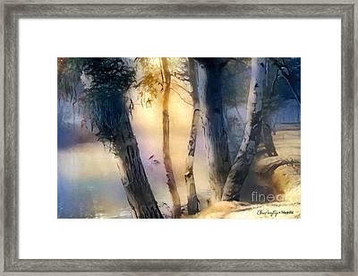 Morning On The Murray Framed Print