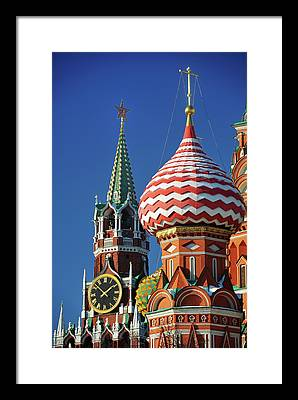 Moscow Framed Prints