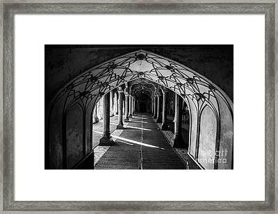 Mosque Entrance Framed Print