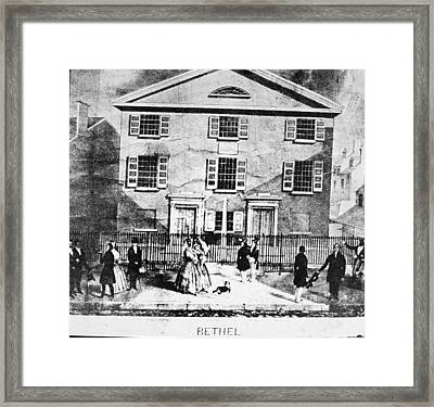 Mother Bethel Ame Black Church - Framed Print by Kean Collection