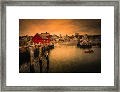 Framed Print featuring the photograph Motif No. 1 En Chiaroscuro by Thomas Gaitley