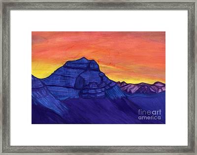 Mount Kailash Framed Print