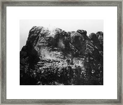 Mount Rushmore Framed Print by Fpg
