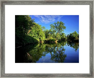Framed Print featuring the photograph Mount Vernon Iowa by Dan Miller