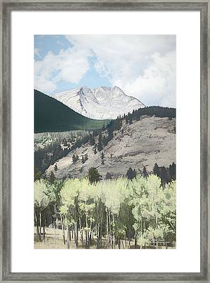 Mount Ypsilon Framed Print