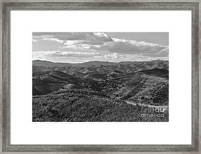 Mountain Paths Framed Print