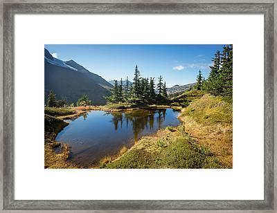 Mountain Pond Framed Print