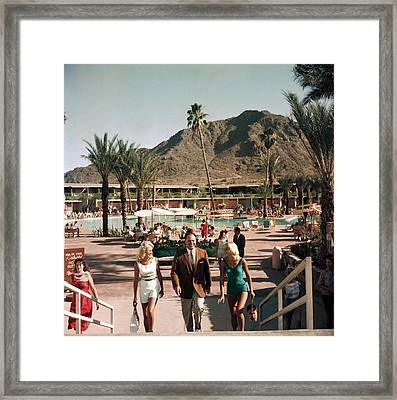 Mountain Shadows Resort Framed Print