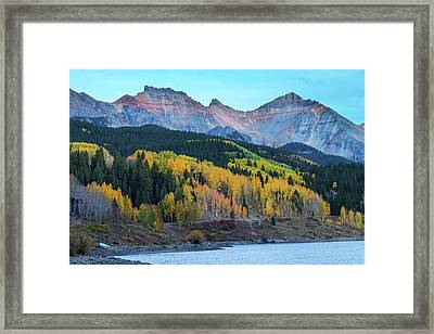 Framed Print featuring the photograph Mountain Trout Lake Wonder by James BO Insogna