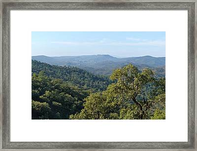 Mountains Of Loule. Serra Do Caldeirao Framed Print