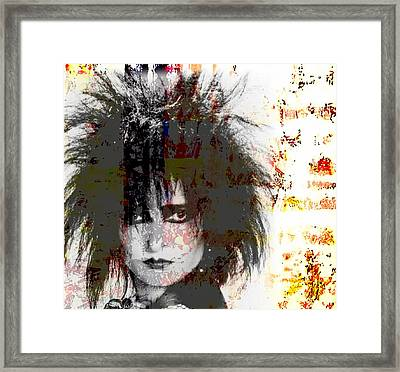 Mrs S Framed Print