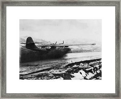 Muddy Landing Framed Print by Hulton Archive